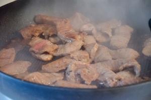 Crispy Rice + Beef Bowls // Pancake Saturday