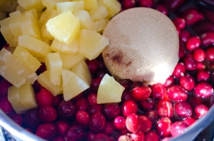 Whiskey & Pineapple Cranberry Sauce // Pancake Saturday